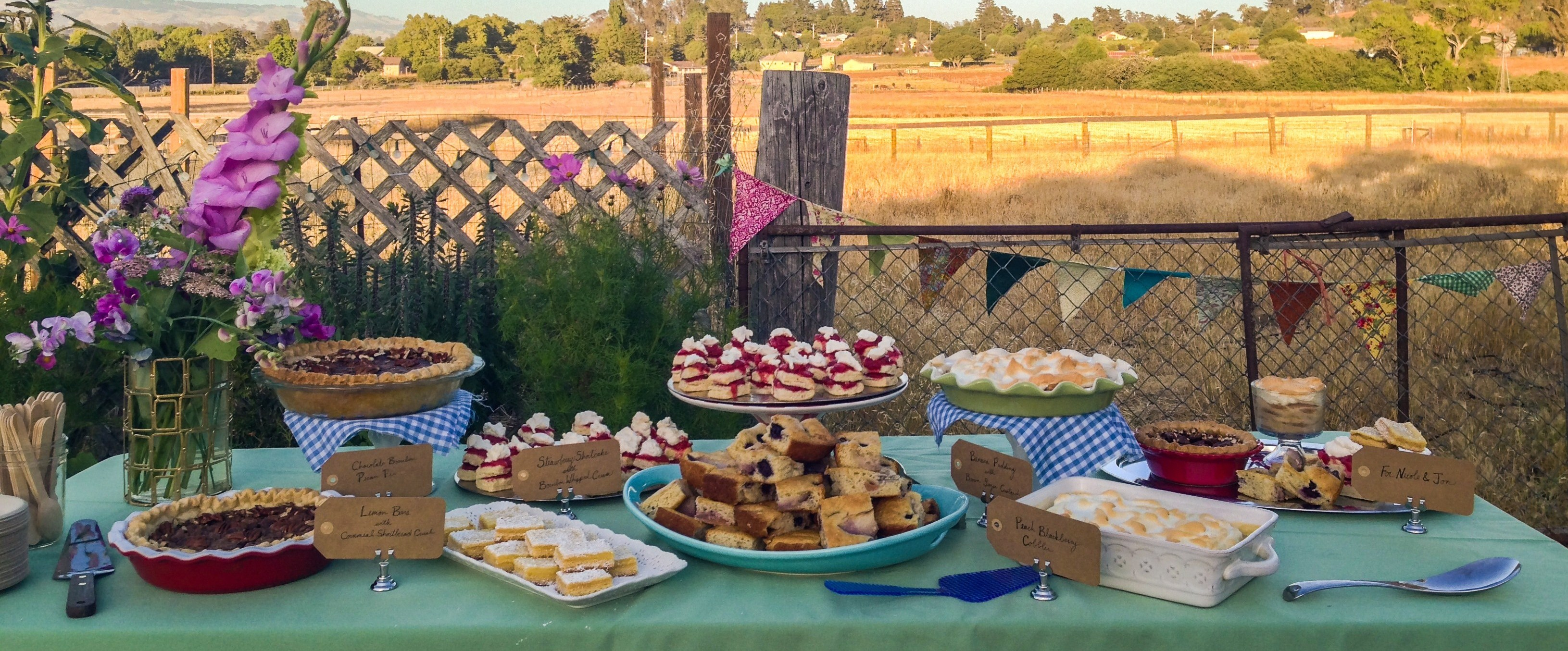 Drums & Crumbs Wedding Dessert Bar