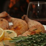 Rosemary Scented Roasted Chicken
