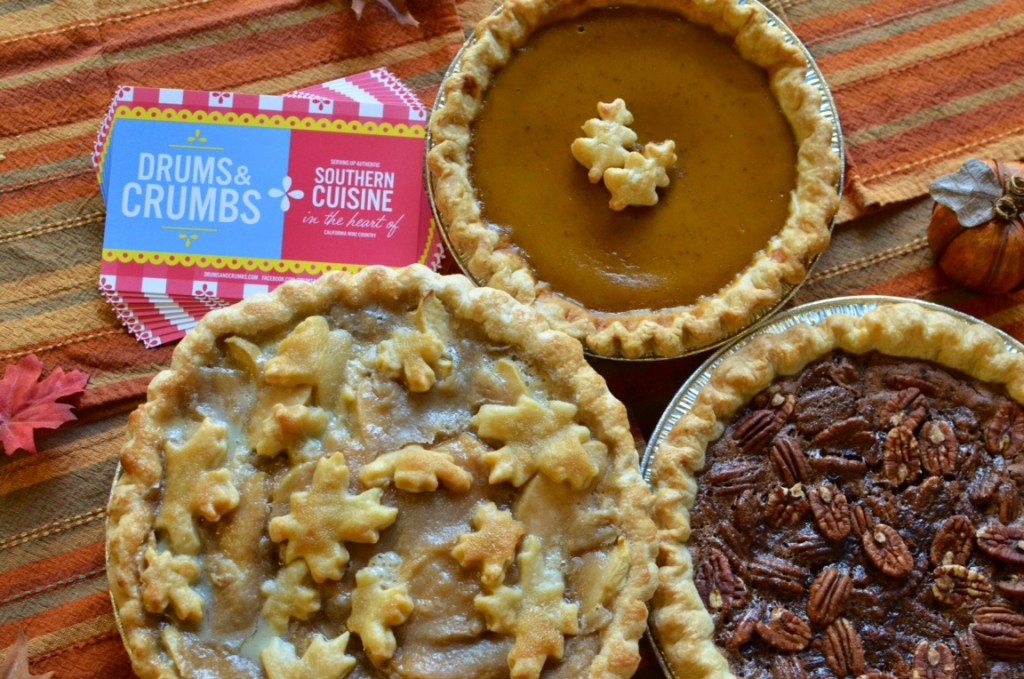 Drums & Crumbs Thanksgiving Pie Sale