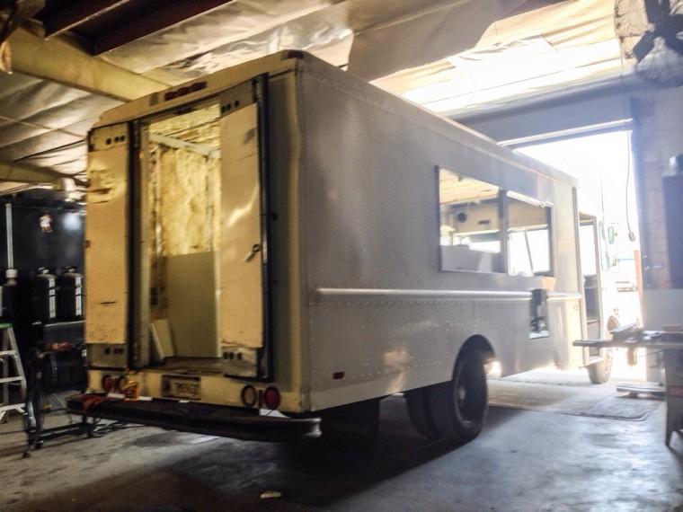 Drums & Crumbs Food Truck Construction