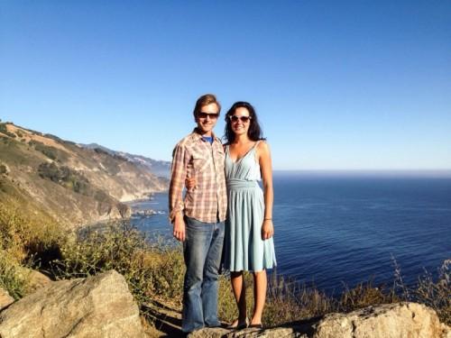 Rachel & Todd at Big Sur