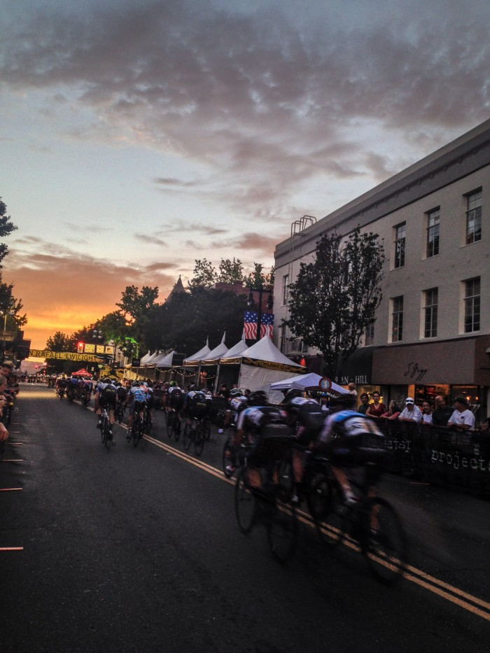 Drums & Crumbs at the San Rafael Twilight Criterium