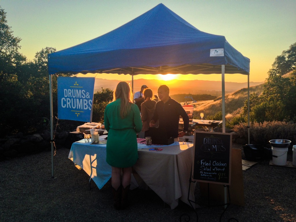 Drums & Crumbs at Patz & Hall Wines & Sunsets