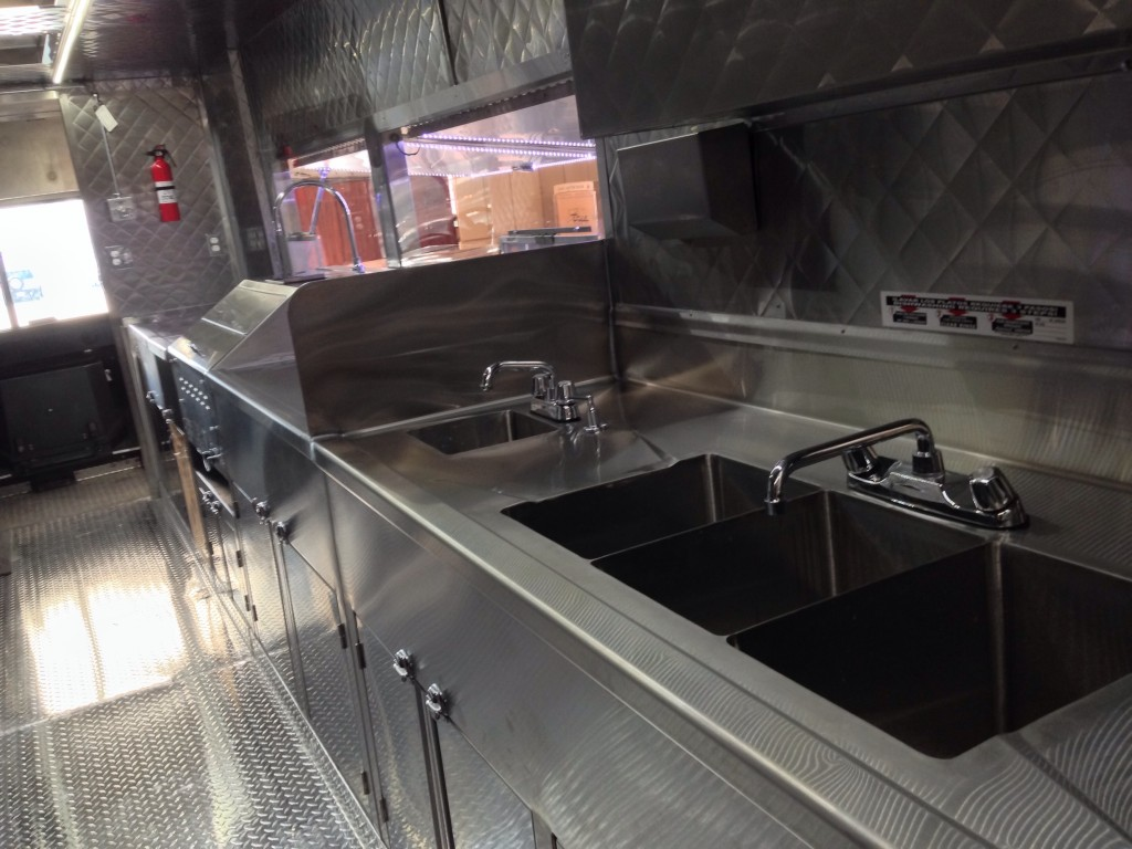 Inside the Drums & Crumbs Food Truck