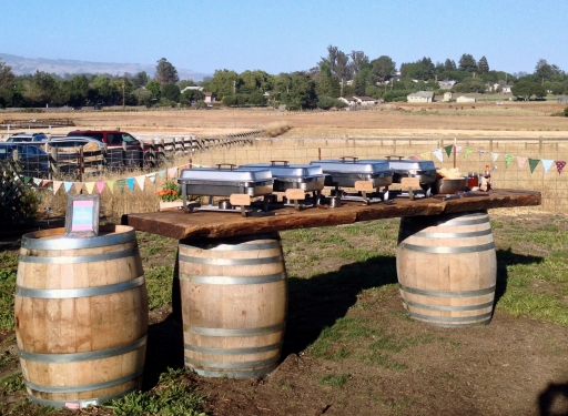 Wine Country Fried Chicken Buffet